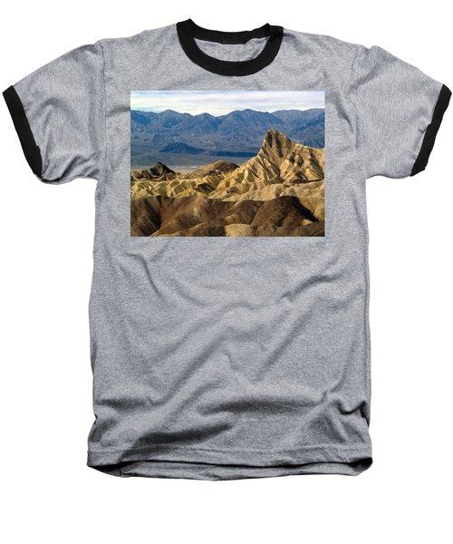 Death Valley Np Zabriskie Point 11 Baseball T-Shirt by Jeff Brunton