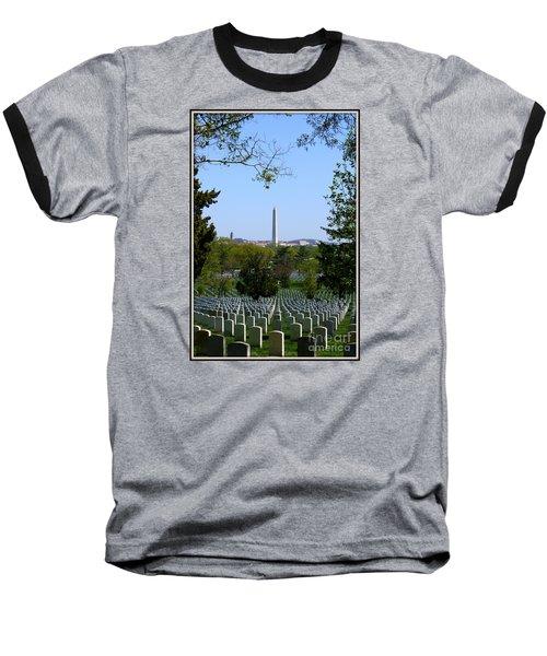 Baseball T-Shirt featuring the photograph Debt Of Gratitude by Patti Whitten