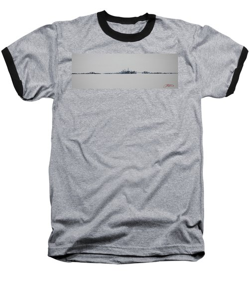 December Sky Baseball T-Shirt