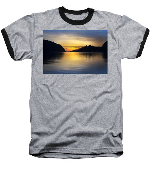 Deception Pass Bridge Baseball T-Shirt