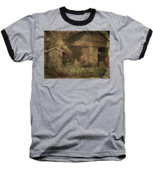 Decrepitude Baseball T-Shirt by Cynthia Lassiter