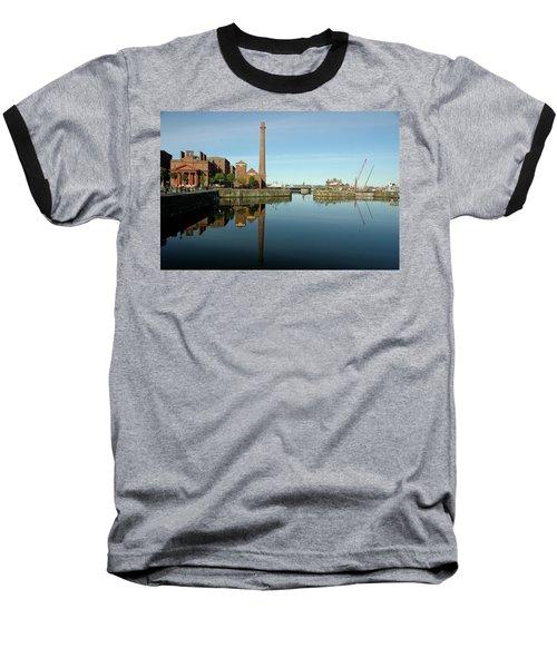 Baseball T-Shirt featuring the photograph Deep Blue Reflections by Jonah  Anderson