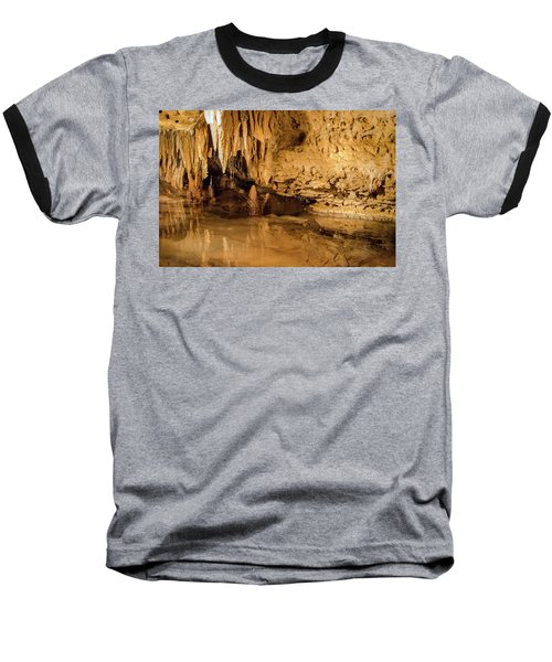 Deep In The Cave Baseball T-Shirt