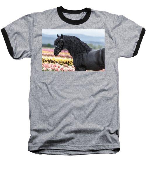 Deep In The Fields Baseball T-Shirt