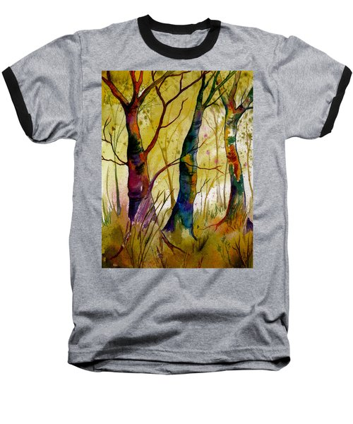 Deep In The Woods Baseball T-Shirt