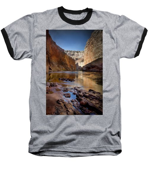 Deep Inside The Grand Canyon Baseball T-Shirt