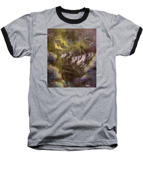 Deep Peace Baseball T-Shirt