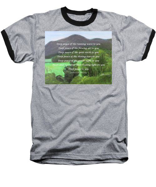 Deep Peace With Ct River Valley Baseball T-Shirt