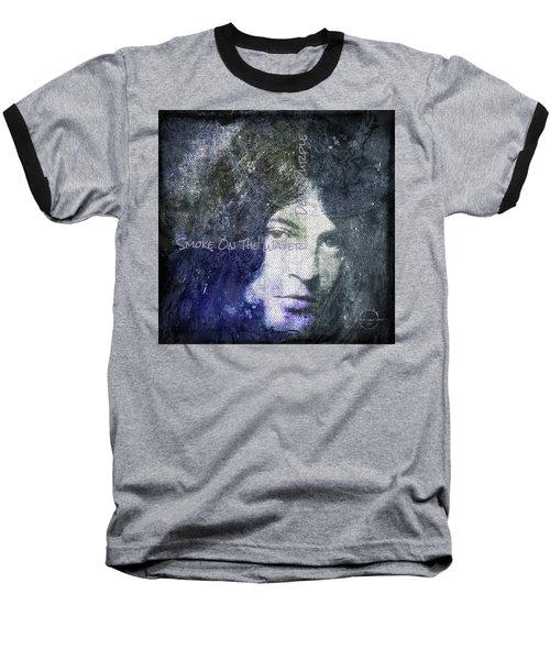 Deep Purple - Smoke On The Water Baseball T-Shirt