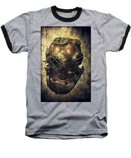 Deep Sea Diving Helmet Baseball T-Shirt
