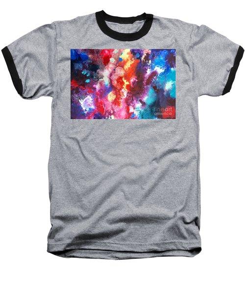 Deep Water Coral Baseball T-Shirt