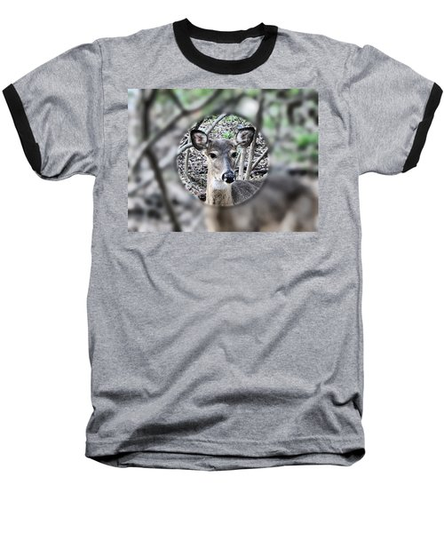 Deer Hunter's View Baseball T-Shirt