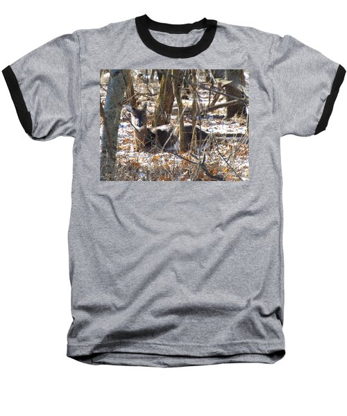 Deer Impressions Baseball T-Shirt
