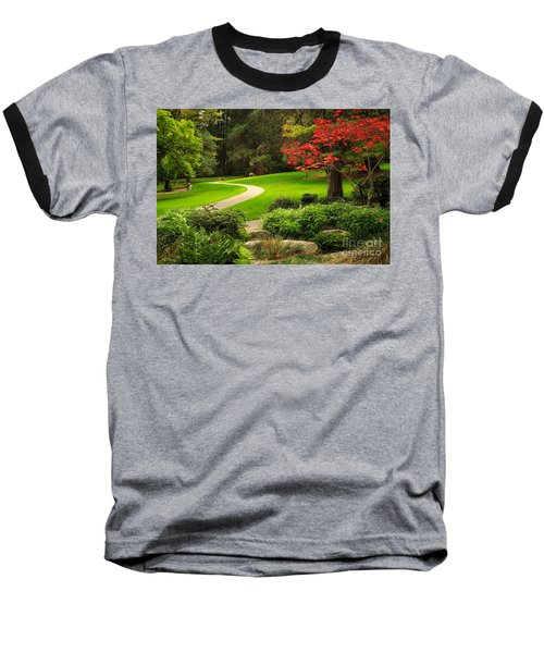 Deer In Lithia Park Baseball T-Shirt