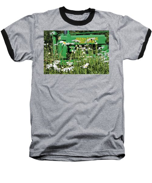 Baseball T-Shirt featuring the photograph Deere 1 by Lynn Sprowl
