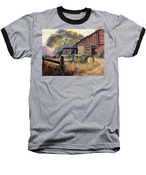 Deere Country Baseball T-Shirt by Michael Humphries