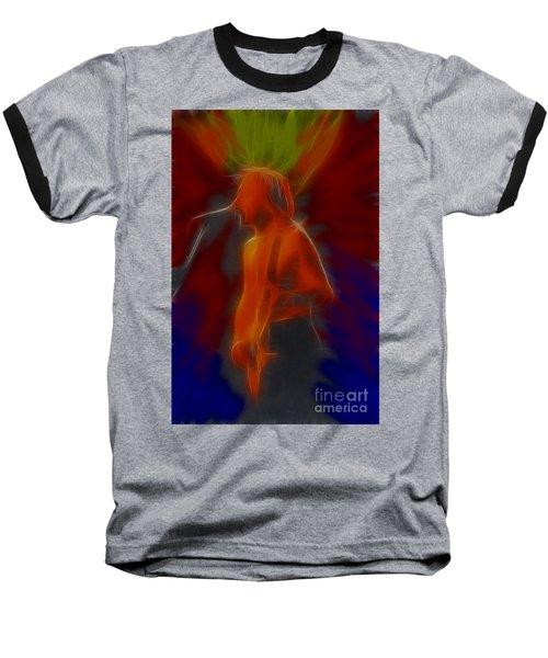 Def Leppard-adrenalize-gb13-phil-fractal Baseball T-Shirt