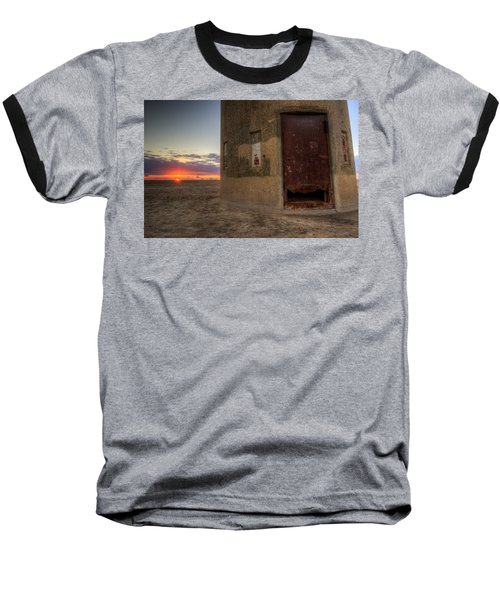 Delaware Lookout Tower Baseball T-Shirt