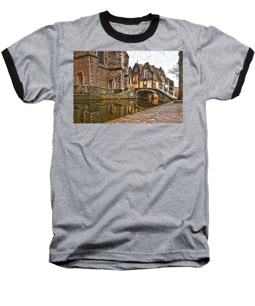 Delft Behind The Church Baseball T-Shirt