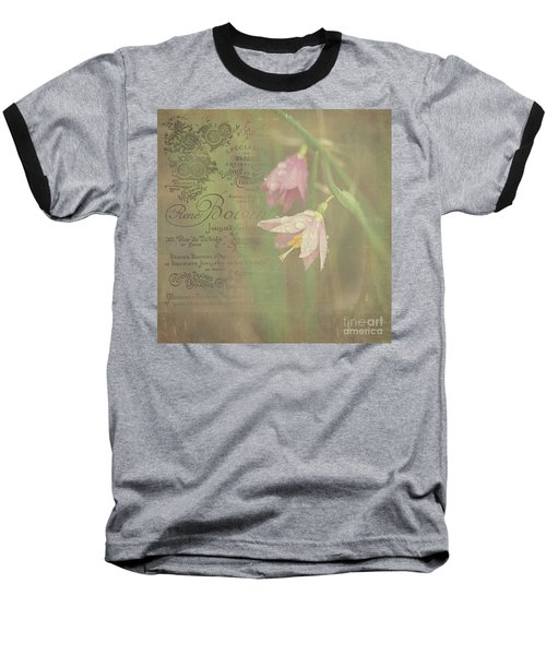 Delicate Blooms Baseball T-Shirt