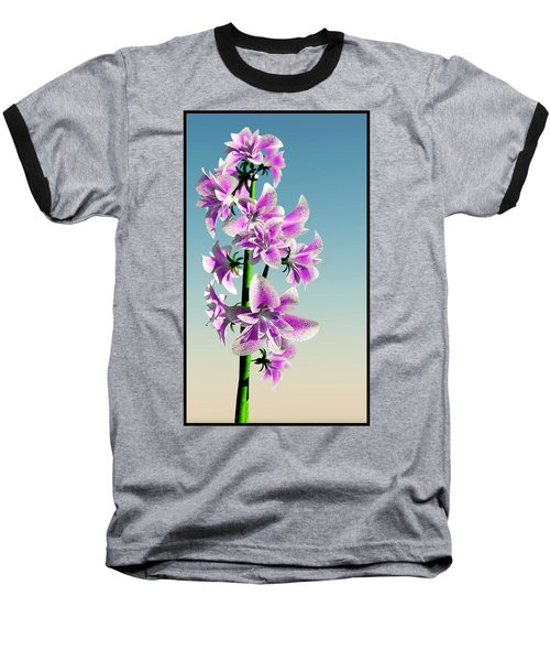 Delicate Flower... Baseball T-Shirt by Tim Fillingim