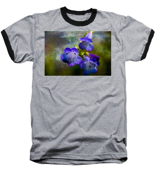 Delicate Garden Beauty Baseball T-Shirt by Mick Anderson