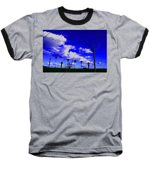 Delta Clouds Baseball T-Shirt