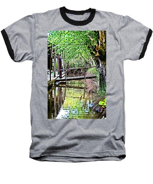 Delta Marina Dock Baseball T-Shirt