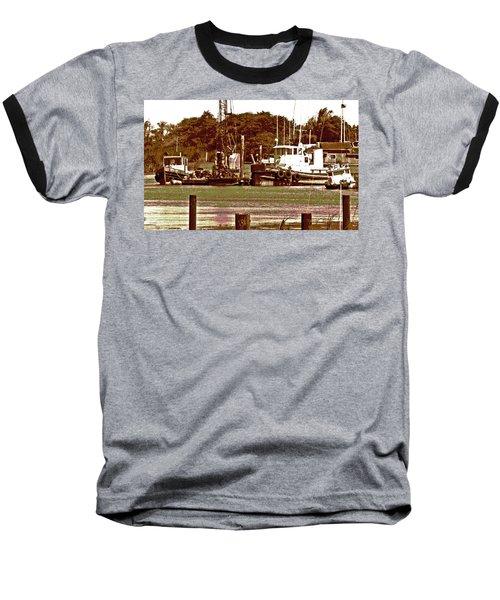 Delta Tug Boats At Work Baseball T-Shirt