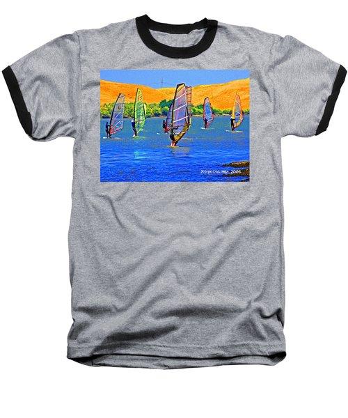 Delta Water Wings Baseball T-Shirt