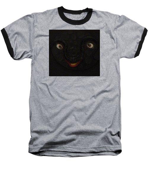 Dark Smile Baseball T-Shirt by Douglas Fromm
