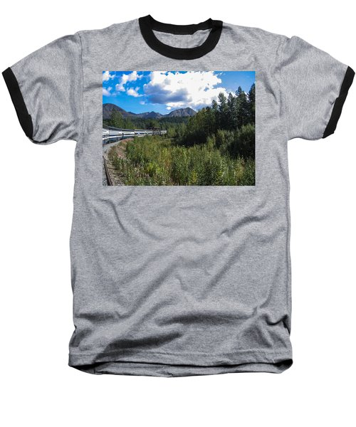 Denali Alaska Baseball T-Shirt