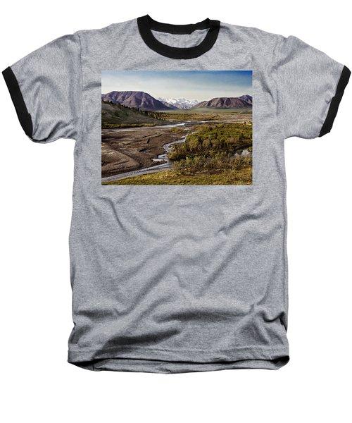 Denali Toklat River Baseball T-Shirt