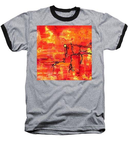 Dendritic Echoes Baseball T-Shirt