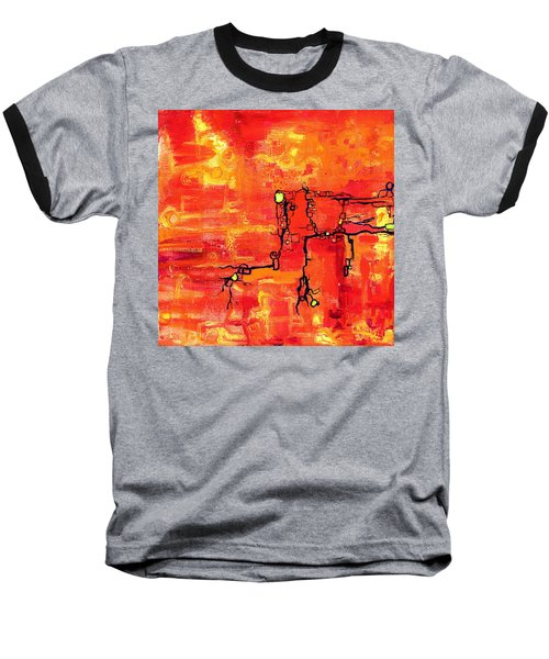 Dendritic Echoes Baseball T-Shirt