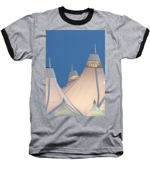 Denver International Airport Baseball T-Shirt