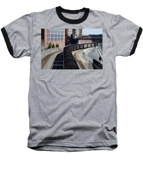 Denver Rail Yard Baseball T-Shirt