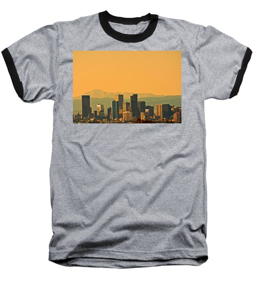 Denver Skyline Baseball T-Shirt