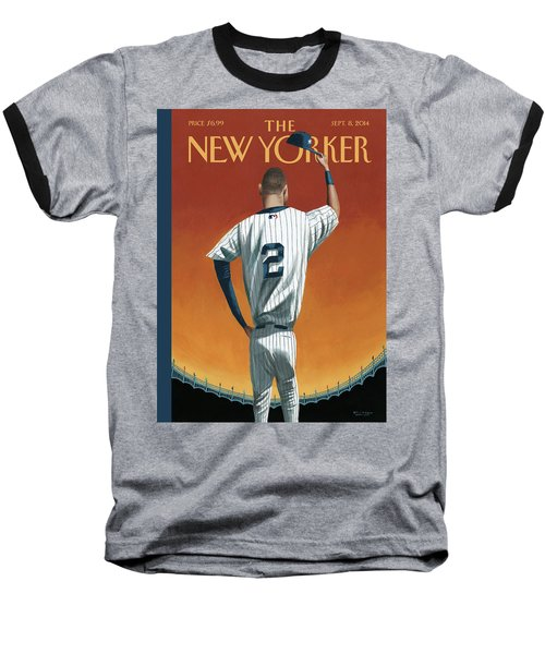 Derek Jeter Bows Out Baseball T-Shirt