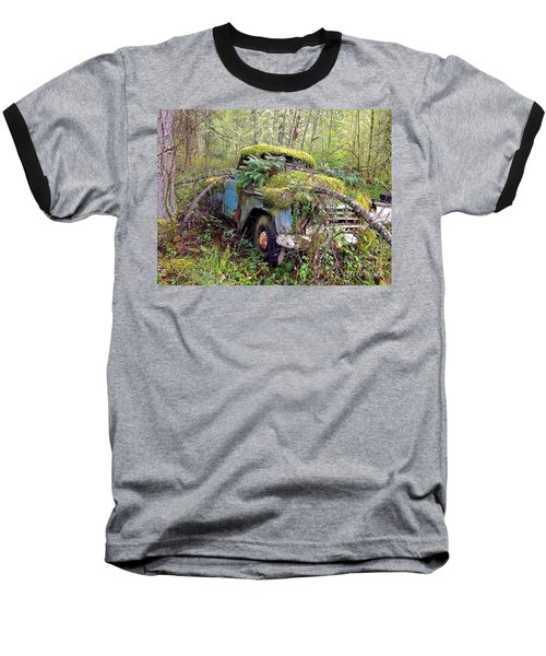 Baseball T-Shirt featuring the photograph Derelict by Sean Griffin