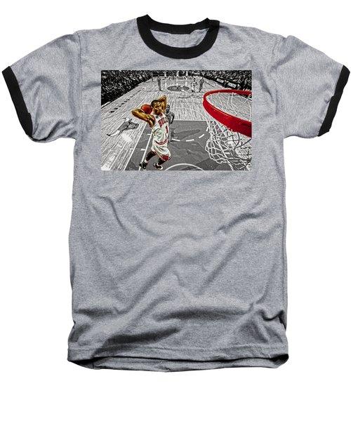 Derrick Rose Took Flight Baseball T-Shirt