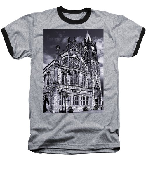 Baseball T-Shirt featuring the photograph Derry Guildhall by Nina Ficur Feenan