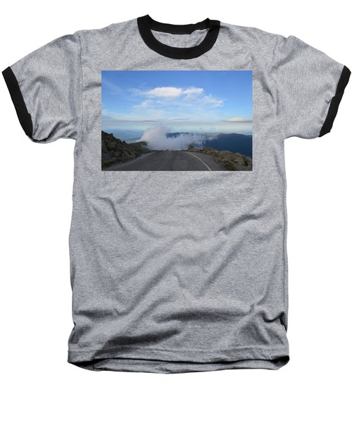 Descending Into The Clouds Baseball T-Shirt