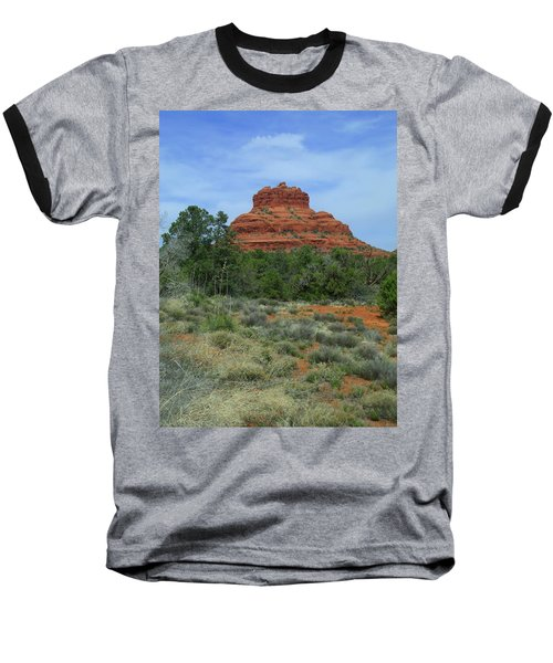 Desert Castle Baseball T-Shirt