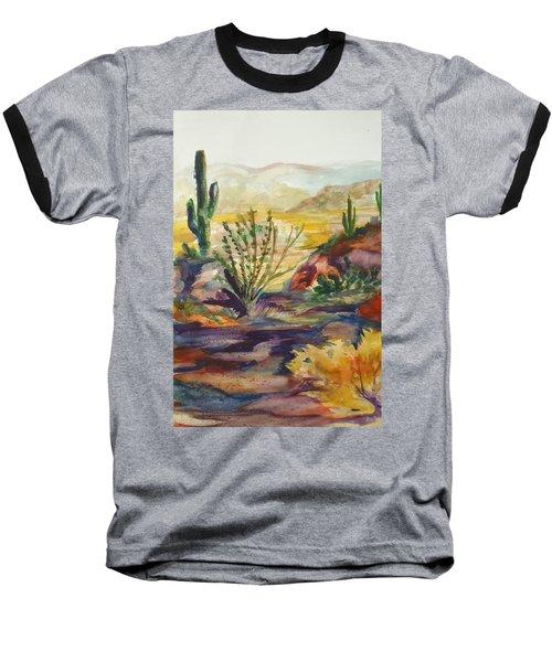 Desert Color Baseball T-Shirt