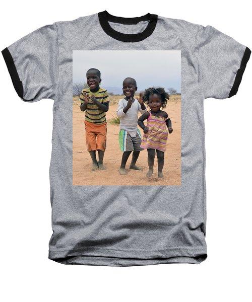 Desert Dance Baseball T-Shirt by Tony Beck