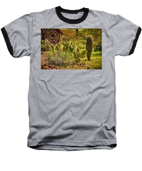 Baseball T-Shirt featuring the photograph Desert Dream by Mark Myhaver