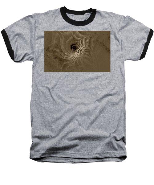 Desert Etching Baseball T-Shirt by GJ Blackman