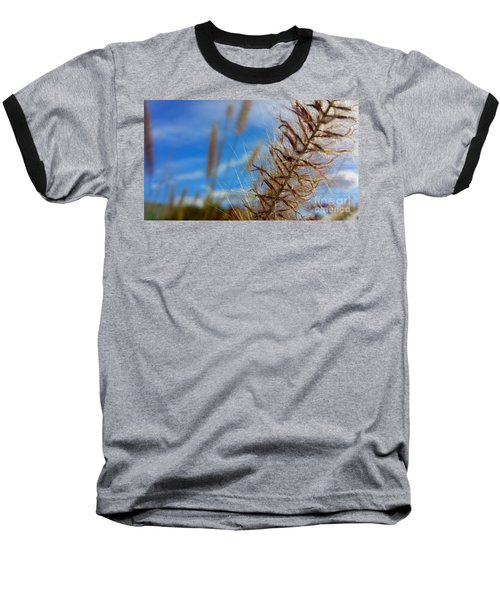 Desert Foliage Baseball T-Shirt by Chris Tarpening
