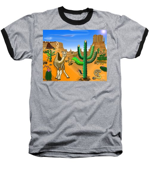 Desert Hands Baseball T-Shirt